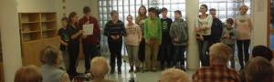 Plníme sliby – návštěva dětí ze ŠD v Domově seniorů
