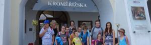 Školní družina v Muzeu Kroměřížska