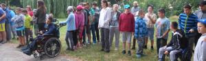 Sportovci ovládli školní zahradu