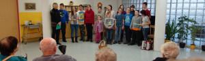 Vystoupení Školní družiny v Domově pro seniory u Moravy