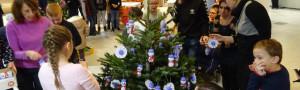 Vánoční stromeček v Kulturním domě v Kroměříži