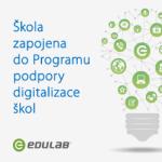 Škola je zapojena do Programu podpory digitalizace škol